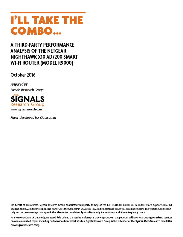 I'll Take The Combo | Signals Research Group