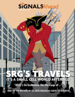SRG Travels:  It's a Small Cell World After All!