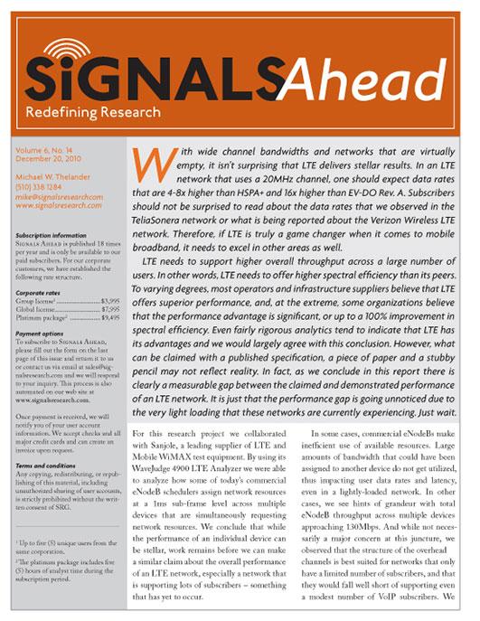 Signals Ahead