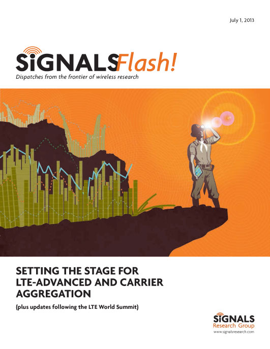 SETTING THE STAGE FOR LTE-ADVANCED AND CARRIER AGGREGATION
