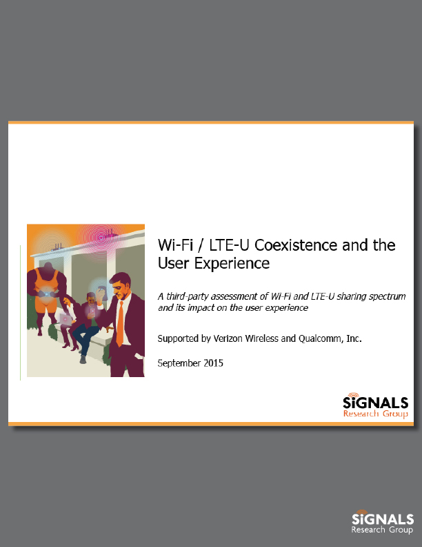 Wi-Fi / LTE-U Coexistence and the User Experience
