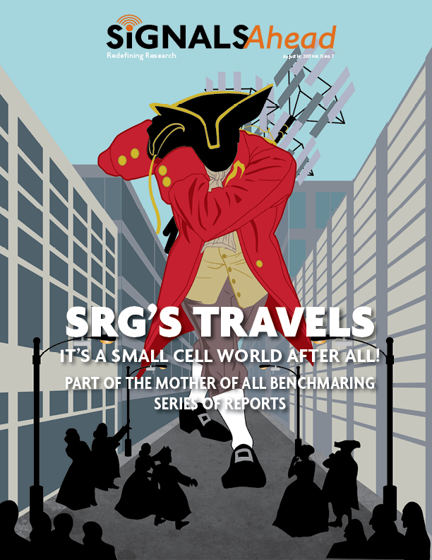 SRG Travels:  It's a Small Cell World After All