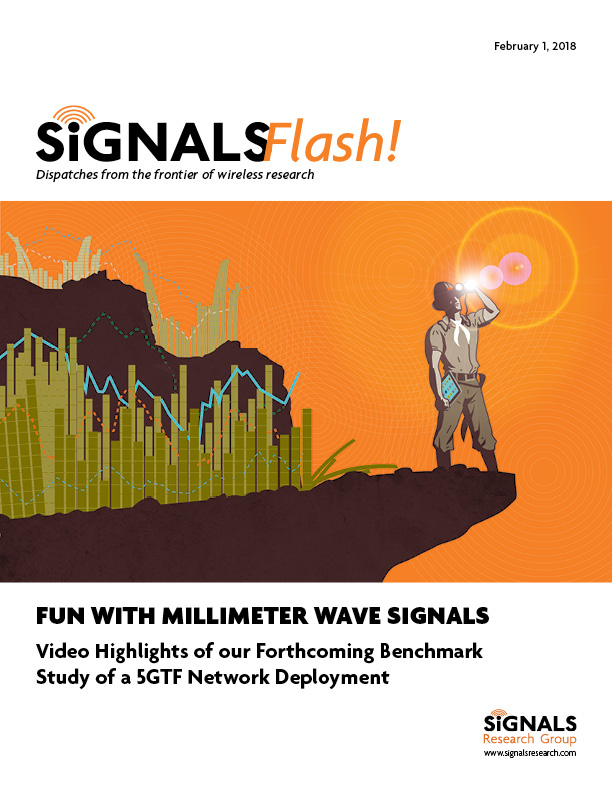 Signals Flash - Fun with Millimeter Wave Signals