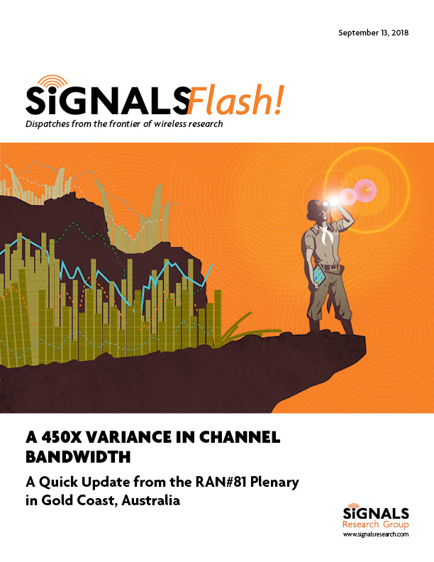 A 450x Variance in Channel Bandwidth