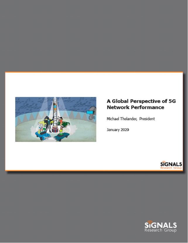 Global 5G Network Performance